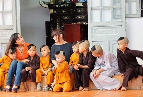 Mái ấm của ca sĩ Phi Nhung ở chùa Pháp Lạc, tỉnh Bình Phước: 13 con nuôi cùng mang họ Phạm - Ảnh 2.