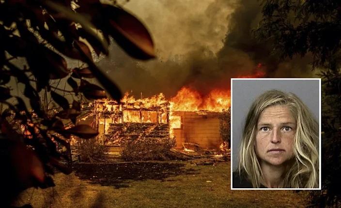 """Nữ """"pháp sư"""" đun nước tiểu gấu gây cháy rừng đe dọa thiêu rụi hàng nghìn ngôi nhà - Ảnh 1."""
