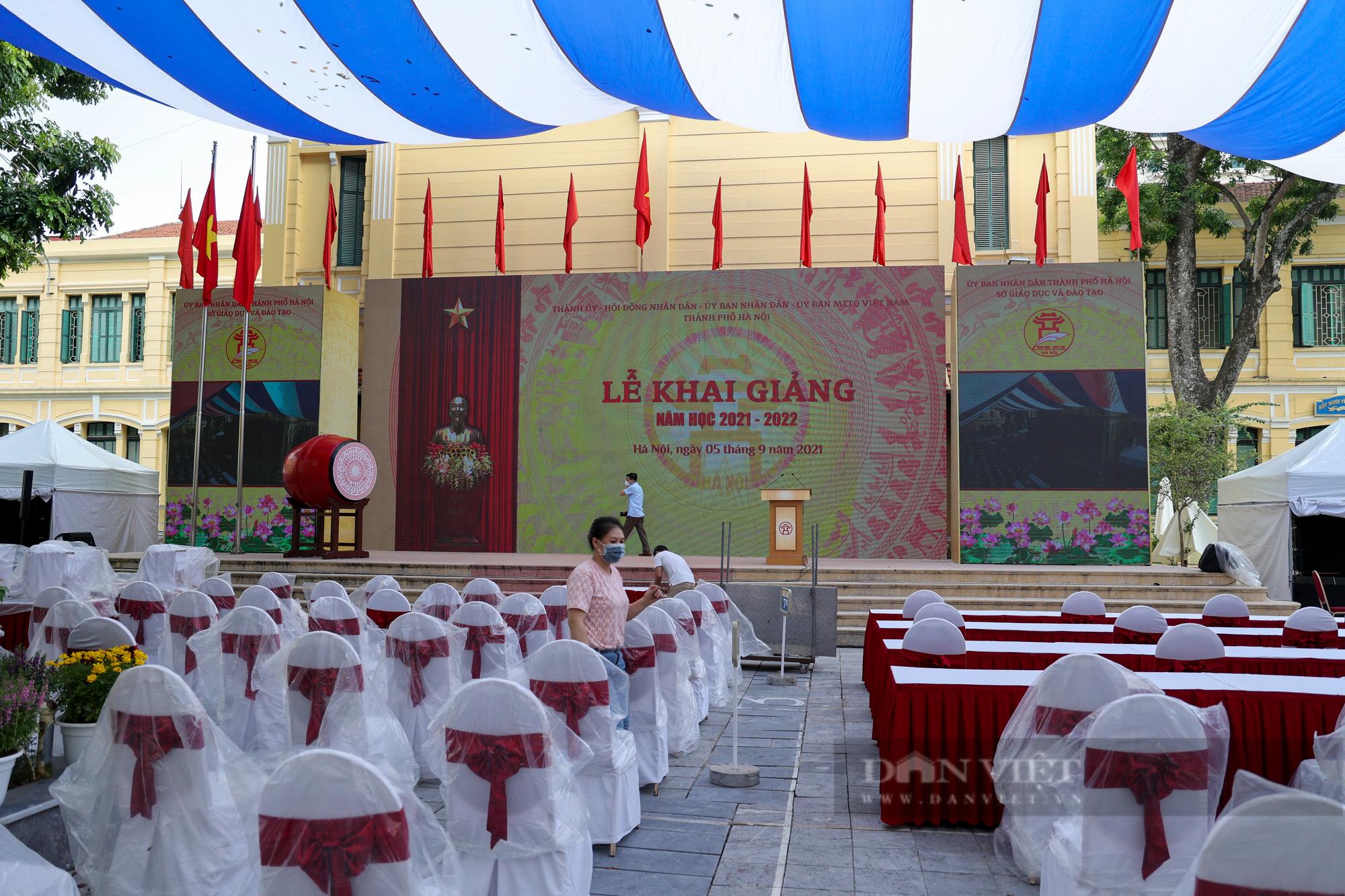 Hà Nội: Gấp rút chuẩn bị cho Lễ khai giảng online đặc biệt của Thủ đô - Ảnh 3.