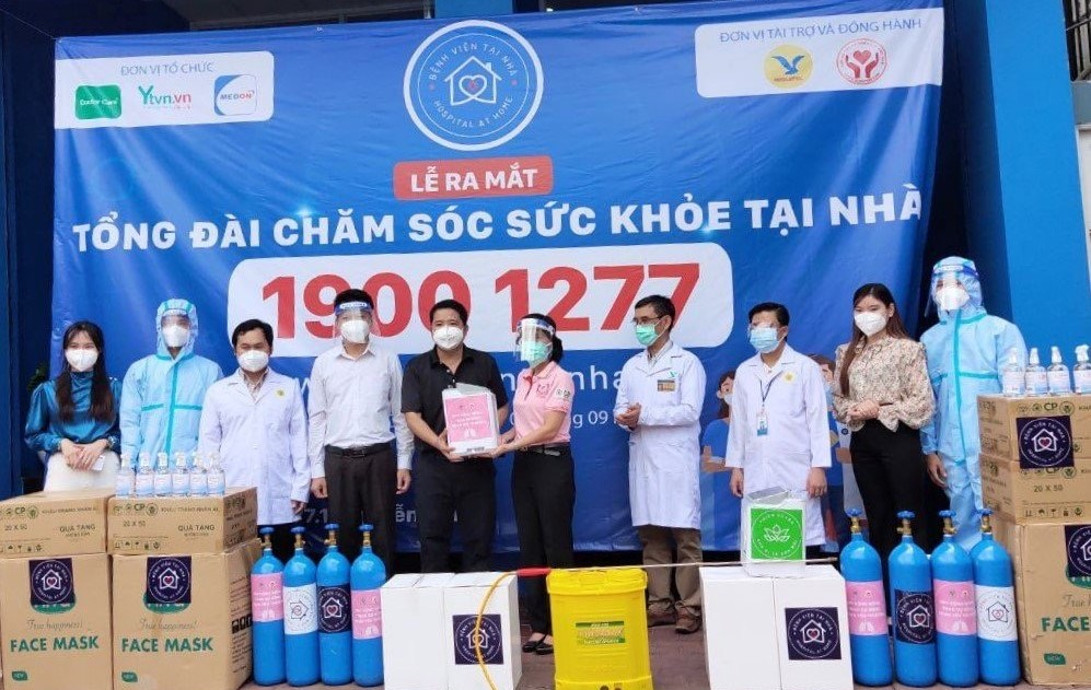 """C.P. Việt Nam đồng hành cùng dự án """"Bệnh Viện Tại Nhà"""" hỗ trợ người dân vượt qua COVID-19 - Ảnh 2."""