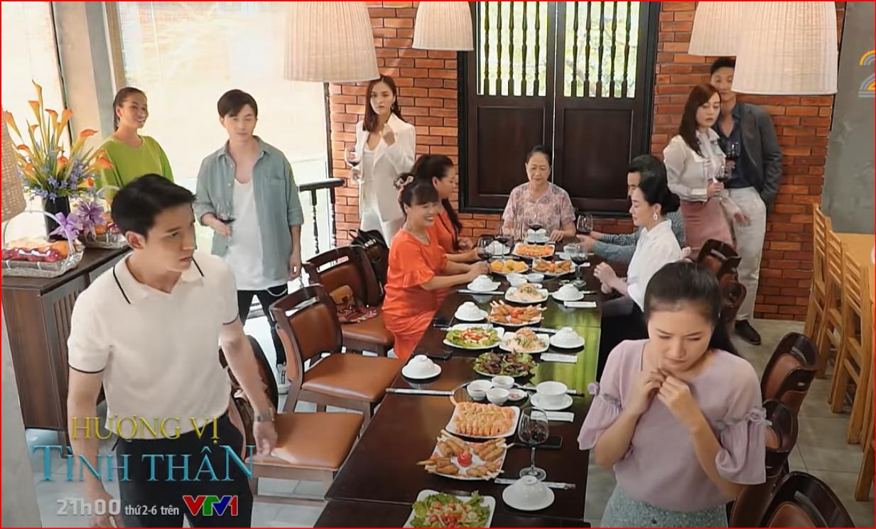 Phim hot Hương vị tình thân tập 28 phần 2: Nam vất vả tại nhà chồng - Ảnh 3.