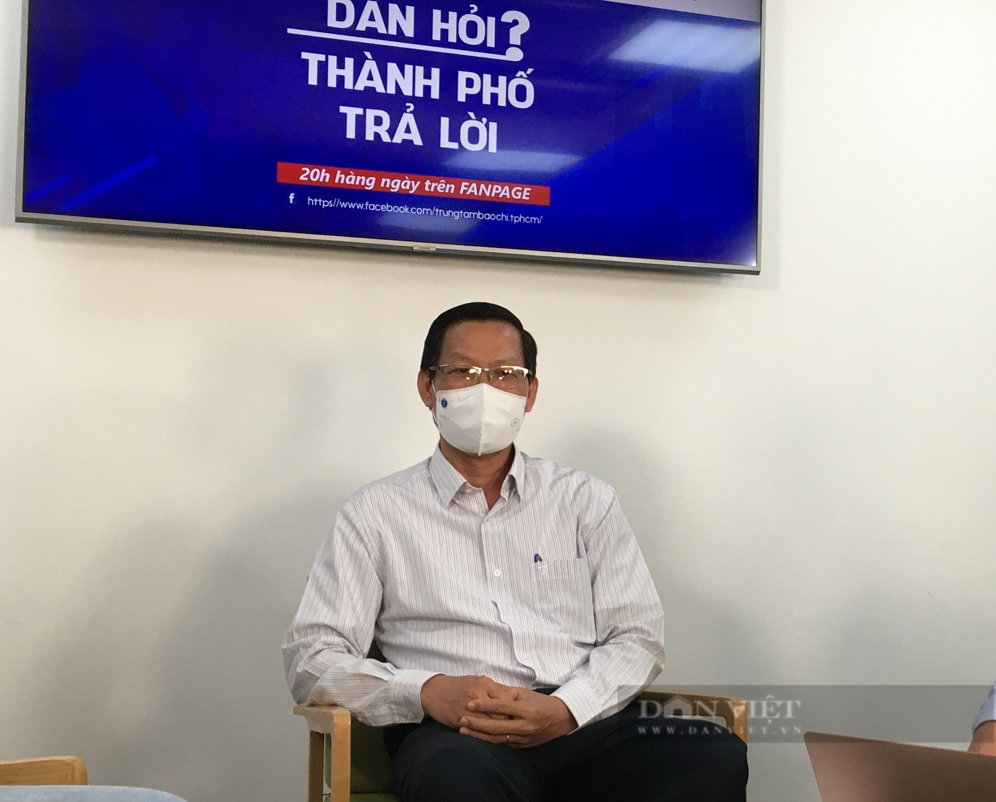 Chủ tịch UBND TP.HCM nhận lỗi với người dân chưa được nhận trợ cấp - Ảnh 3.