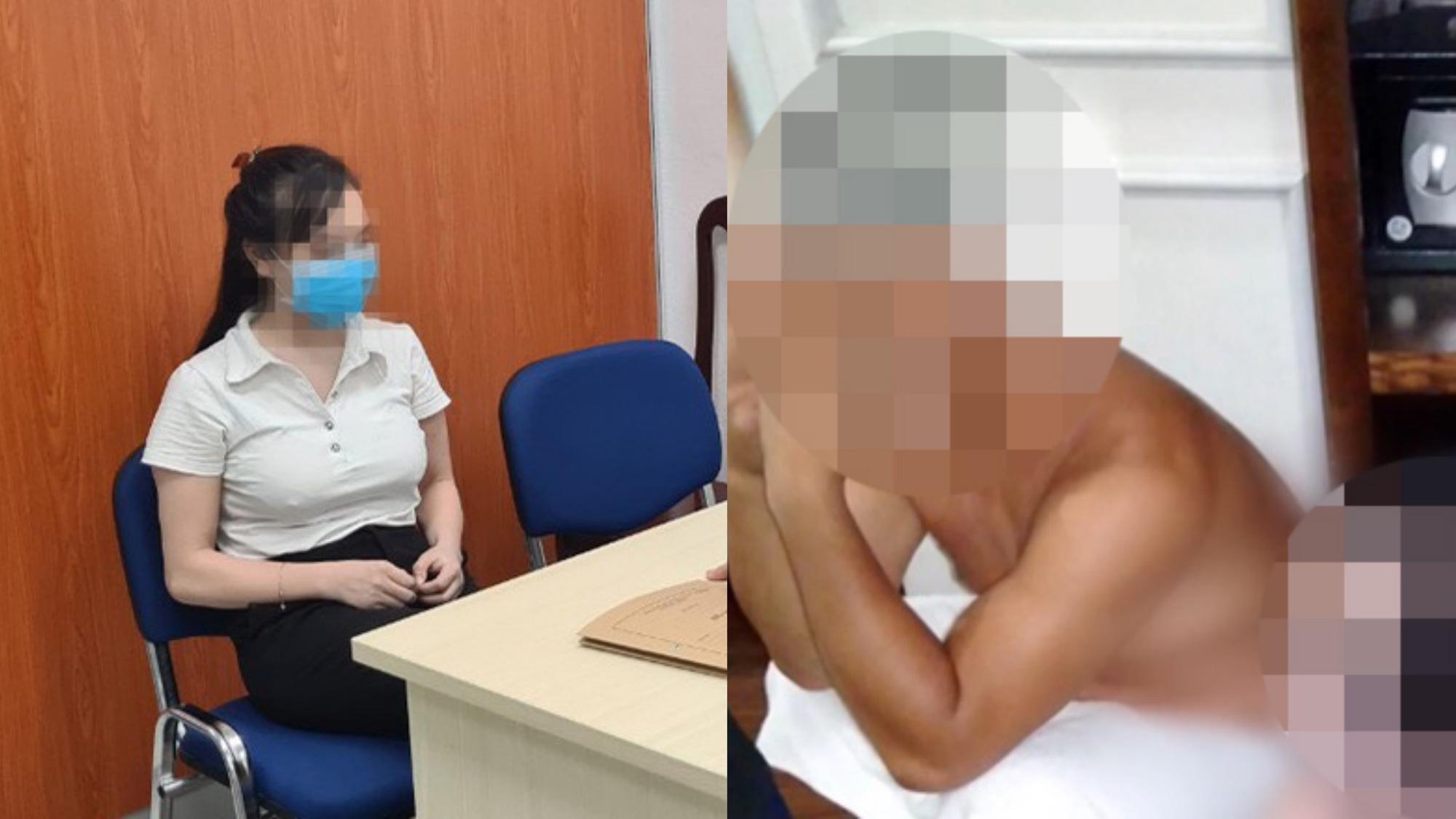 Bắt quả tang cô gái 32 tuổi bán dâm cho nam thanh niên 29 tuổi ở Hà Nội - Ảnh 1.