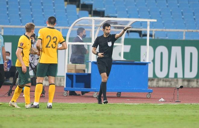 """Trưởng ban trọng tài VFF: """"ĐT Việt Nam xứng đáng có penalty"""""""