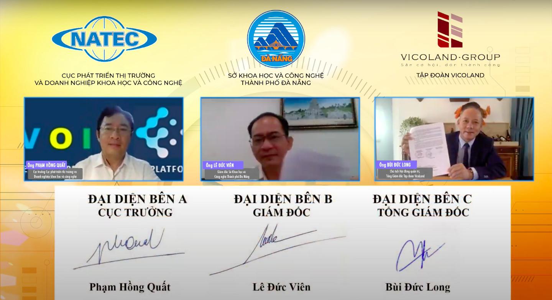 Sở Khoa học và Công nghệ Đà Nẵng ký kết thỏa thuận hợp tác phát triển khởi nghiệp đổi mới sáng tạo - Ảnh 2.