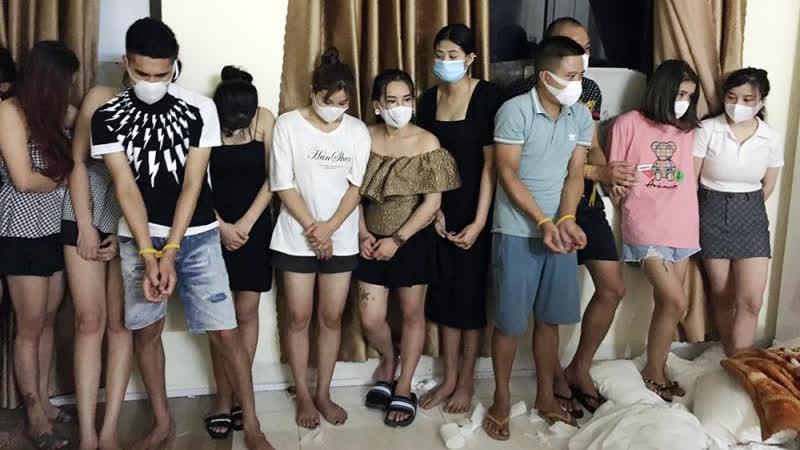 Gần 20 nam thanh nữ tú thuê nhà nghỉ để 'bay lắc'