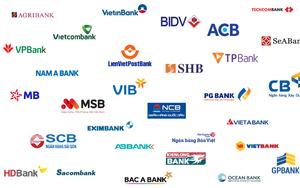 """Lợi nhuận ngân hàng: Kẻ vượt đích, người gần """"vạch xuất phát"""""""
