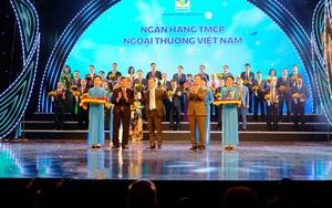 Vietcombank – ngân hàng duy nhất 7 lần liên tục được vinh danh Thương hiệu Quốc gia