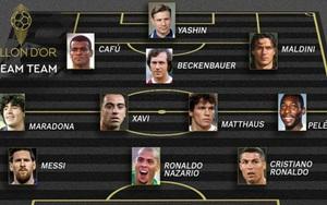 Đội hình Vàng của France Football: Có Pele, Maradona, Messi, Ronaldo