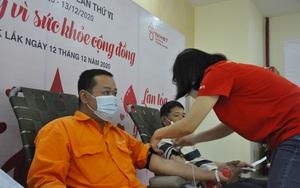 PC Đắk Lắk: Tổ chức thành công chương trình Tuần lễ hồng EVN lần thứ VI