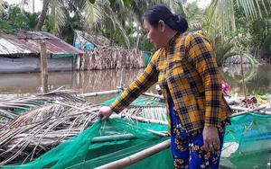 Sóc Trăng: Nông dân nuôi trữ cá đồng, bắt ốc bươu vàng mùa nước nổi, thu nhập khỏe