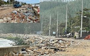 Quảng Ngãi: Kè chắn sóng 20 tỷ đồng tan hoang, uy hiếp gần 400 hộ dân