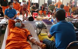"""PC Đắk Nông: Hơn 200 đơn vị máu đóng góp cho ngân hàng máu trong """"Tuần lễ hồng EVN"""" lần thứ VI"""