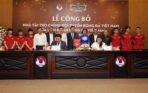 King Coffee của bà Lê Hoàng Diệp Thảo tài trợ cho ĐT Việt Nam