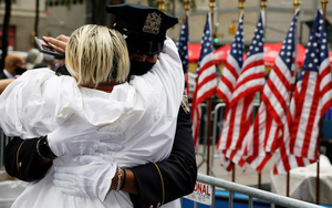 Người Mỹ tổ chức lễ tưởng niệm khủng bố 11/9 khác thường so với mọi năm