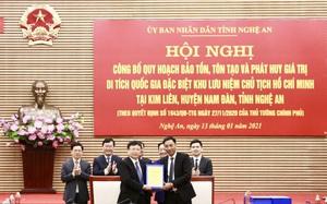 Công bố quy hoạch Khu lưu niệm Chủ tịch Hồ Chí Minh