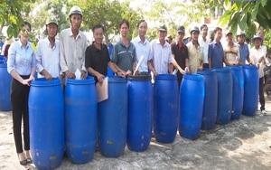 Bạc Liêu: Lợi ích kép từ quy trình ủ rác hữu cơ làm phân compost