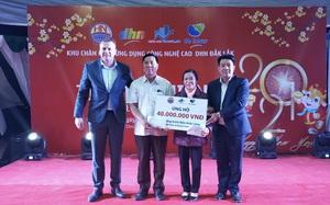 Tập đoàn De Heus và Tập đoàn Hùng Nhơn tặng quà tết cho hộ nghèo Đắk Lắk, tài trợ 500 triệu xây cầu