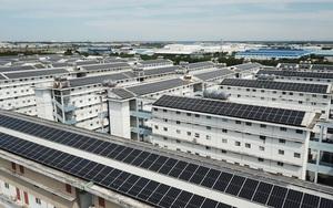 Bình Dương: BQT tự ý cho lắp tấm pin năng lượng mặt trời lên mái nhà, cư dân bức xúc