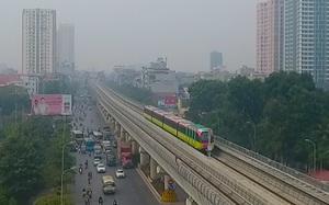 Flycam: Ngắm đoàn tàu đầu tiên của tuyến metro Nhổn - ga Hà Nội chạy thử qua góc nhìn từ trên cao