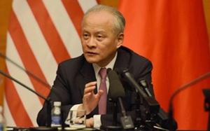 """Đại sứ Trung Quốc cảnh báo Mỹ về """"sai lầm chiến lược cực lớn"""" này"""