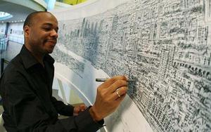 Người họa sĩ tự kỷ có khả năng vẽ nguyên một thành phố chỉ bằng... trí nhớ
