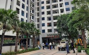 Clip: Phong tỏa tòa nhà có người đàn ông Hàn Quốc tử vong ở Goldmark City