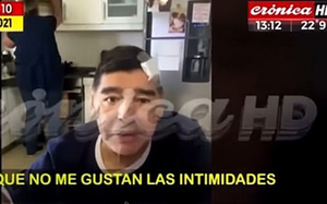 Xuất hiện đoạn video cuối cùng về huyền thoại Maradona trước khi qua đời