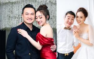 """7 sao nam Việt gây """"sốt"""" vì lấy vợ xinh đẹp kém hơn chục tuổi: Diễn viên Chi Bảo, NSND Công Lý..."""