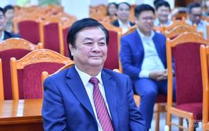 Thứ trưởng Lê Minh Hoan và Vụ trưởng Pháp chế được Bộ NNPTNT giới thiệu ứng cử đại biểu Quốc hội