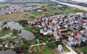 """Đón quy hoạch đô thị sông Hồng: Giá đất Đông Anh tăng """"thẳng đứng"""""""