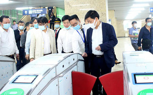 Thị sát đường sắt Cát Linh-Hà Đông, lãnh đạo Hà Nội chỉ đạo gì?