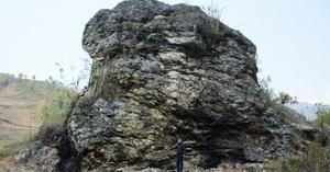 Yên Bái: Hàng nghìn người quỳ lạy dưới chân tảng đá thần hình đầu rồng ở La Pán Tẩn