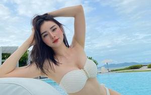 """""""Phạm Băng Băng phiên bản Việt"""" lấy chồng đại gia Thái Lan, ngày càng xinh đẹp, đằm thắm"""
