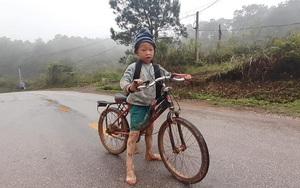 Cậu bé lấm lem, mặc quần cộc, đạp xe hàng giờ đi học: Tiết lộ đặc biệt từ cô giáo