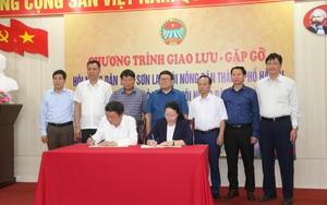 Hội Nông dân tỉnh Sơn La: Ký kết tợp tác phát triển kinh tế nông nghiệp với Hội Nông dân thành phố Hà Nội