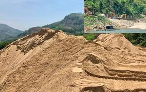 Quảng Ngãi: 2 chủ dự án thủy điện tự ý cho khai thác cát trái phép?
