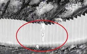 Video: Kẻ buôn người thả trẻ nhỏ từ rào cao 4m để vào đất Mỹ gây chấn động