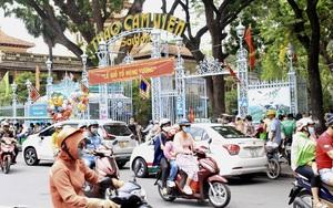 TP.HCM: Thảo Cầm Viên Sài Gòn, Đường sách đông nghẹt ngày nghỉ lễ Giỗ tổ Hùng Vương