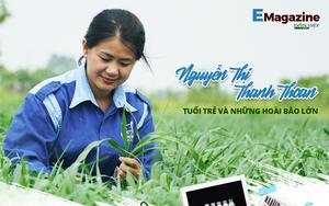 Cô gái 8X trồng cỏ nuôi bò, hiện thực hóa giấc mơ tạo dòng sữa sạch