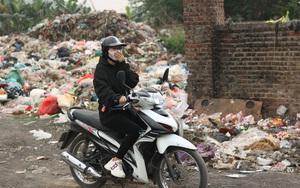 Cận cảnh tình trạng ô nhiễm khủng khiếp tại Hoài Đức, Hà Nội