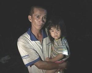 Nghi vấn cha ôm con gái 3 tuổi định nhảy cầu tự tử
