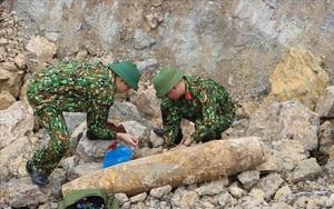 Nghệ An hủy nổ thành công quả bom nặng 115kg