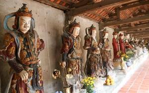 Về thăm ngôi chùa nhiều tượng Phật bằng đất nhất Việt Nam