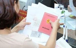 Thu hồi sổ hộ khẩu giấy khi người dân đăng ký thay đổi thông tin từ 1/7