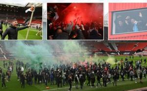 Toàn cảnh vụ bạo loạn khiến trận M.U - Liverpool không thể diễn ra