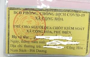 Vụ người dân phải nộp tiền xin giấy thông chốt kiểm soát dịch ở Hải Dương: Cán bộ xã bị tạm đình chỉ công tác
