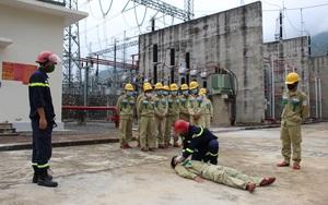 Điện lực Sơn La: Chủ động phòng chống cháy nổ, bảo đảm an ninh an toàn công trình trọng điểm Quốc gia