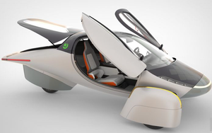 The Solar EV - mẫu xe điện sử dụng năng lượng mặt trời