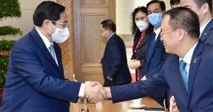 Cộng đồng doanh nghiệp bày tỏ quyết tâm chống dịch, phục hồi kinh tế với Thủ tướng